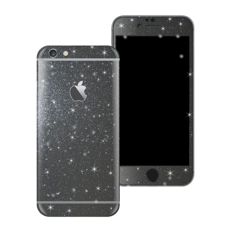 iPhone 6S Plus Diamond METEORITE Shimmering Glitter Skin Wrap Sticker Cover Decal Protector by EasySkinz