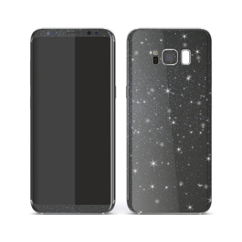 Samsung Galaxy S8+ Diamond Meteorite Shimmering, Sparkling, Glitter Skin, Decal, Wrap, Protector, Cover by EasySkinz | EasySkinz.com