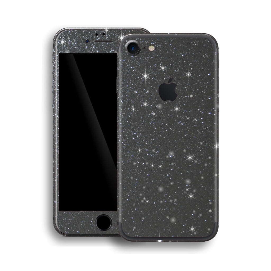 iPhone 7 Diamond METEORITE Shimmering, Sparkling, Glitter Skin, Wrap, Decal, Protector, Cover by EasySkinz | EasySkinz.com