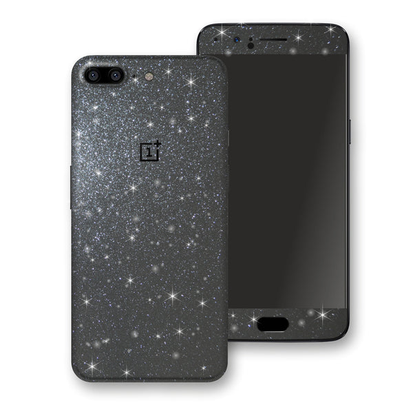 OnePlus 5 Diamond Meteorite Shimmering, Sparkling, Glitter Skin, Decal, Wrap, Protector, Cover by EasySkinz | EasySkinz.com