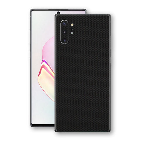 Samsung Galaxy NOTE 10+ PLUS Black Matrix Textured Skin Wrap Decal 3M by EasySkinz