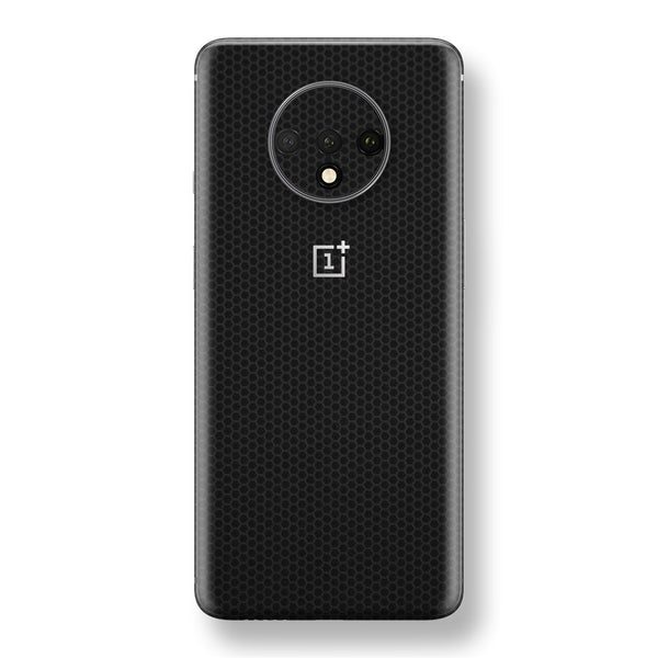 OnePlus 7T Black Matrix Textured Skin Wrap Decal 3M by EasySkinz