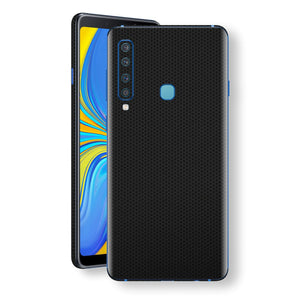 Samsung Galaxy A9 (2018) Black Matrix Textured Skin Wrap Decal 3M by EasySkinz