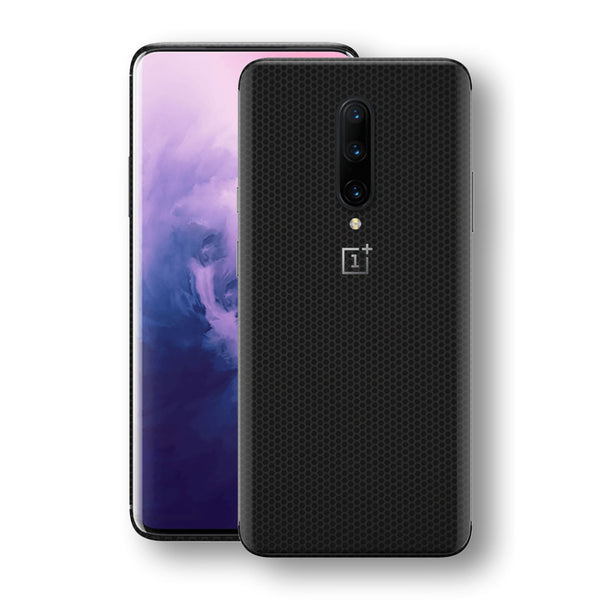 OnePlus 7 PRO Black Matrix Textured Skin Wrap Decal 3M by EasySkinz