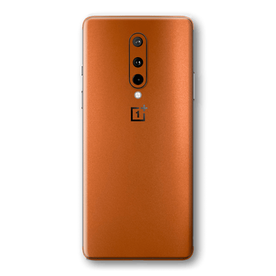 OnePlus 8 Hot Copper Matt Metallic Skin Wrap Sticker Decal Cover Protector by EasySkinz