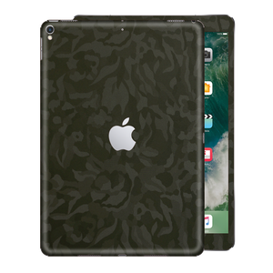 "iPad PRO 12.9"" inch 2nd edition 2017  Luxuria GREEN 3D Textured Camo Camouflage Skin Wrap Decal Protector 