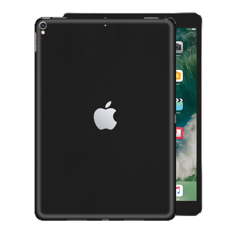 "iPad PRO 2nd Generation 2017 12.9"" inch Black Matrix Textured Skin Wrap Decal 3M by EasySkinz"