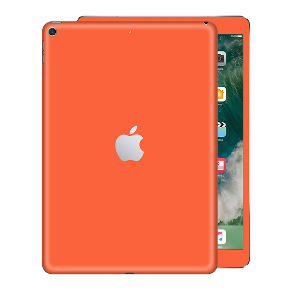 iPad 9.7 inch 2017 Gloss Glossy CORAL Skin Wrap Sticker Decal Cover Protector by EasySkinz