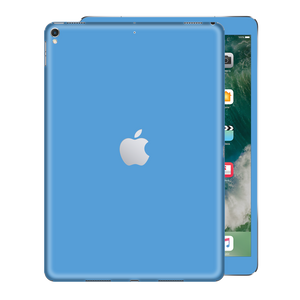 iPad PRO 10.5-inch 2017 Light BLUE Gloss Glossy Skin, Decal, Wrap, Protector, Cover by EasySkinz | EasySkinz.com