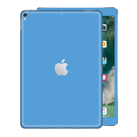 "iPad PRO 12.9"" inch 2nd edition 2017 Light BLUE Gloss Glossy Skin, Decal, Wrap, Protector, Cover by EasySkinz 
