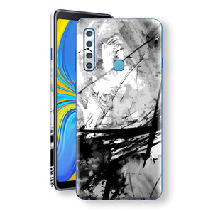 Samsung Galaxy A9 (2018) Print Custom Signature Abstract Black & White 2 Skin Wrap Decal by EasySkinz - Design 2