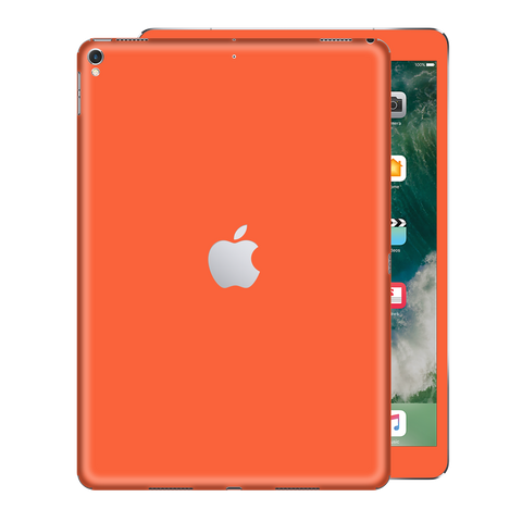iPad PRO 12.9 inch 2017 Gloss Glossy CORAL Skin Wrap Sticker Decal Cover Protector by EasySkinz