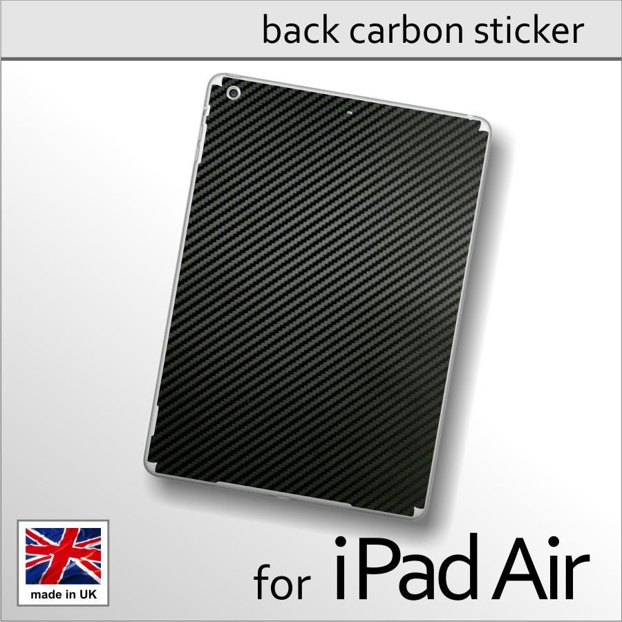 iPad AIR 3D Textured CARBON Fibre BACK Vinyl Wrap Cover Decal Sticker Skin
