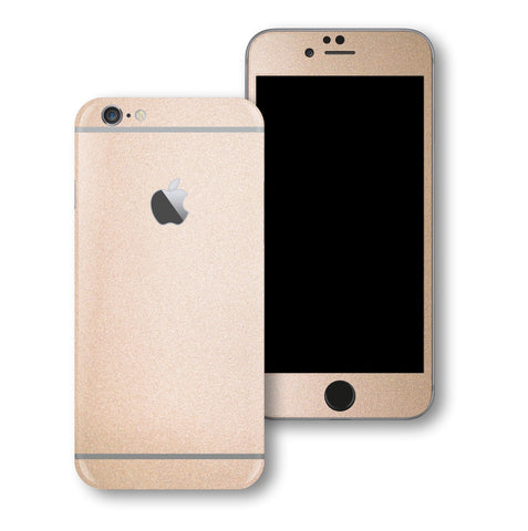iPhone 6S PLUS Luxuria Rose Gold Metallic Skin Wrap Decal Protector | EasySkinz
