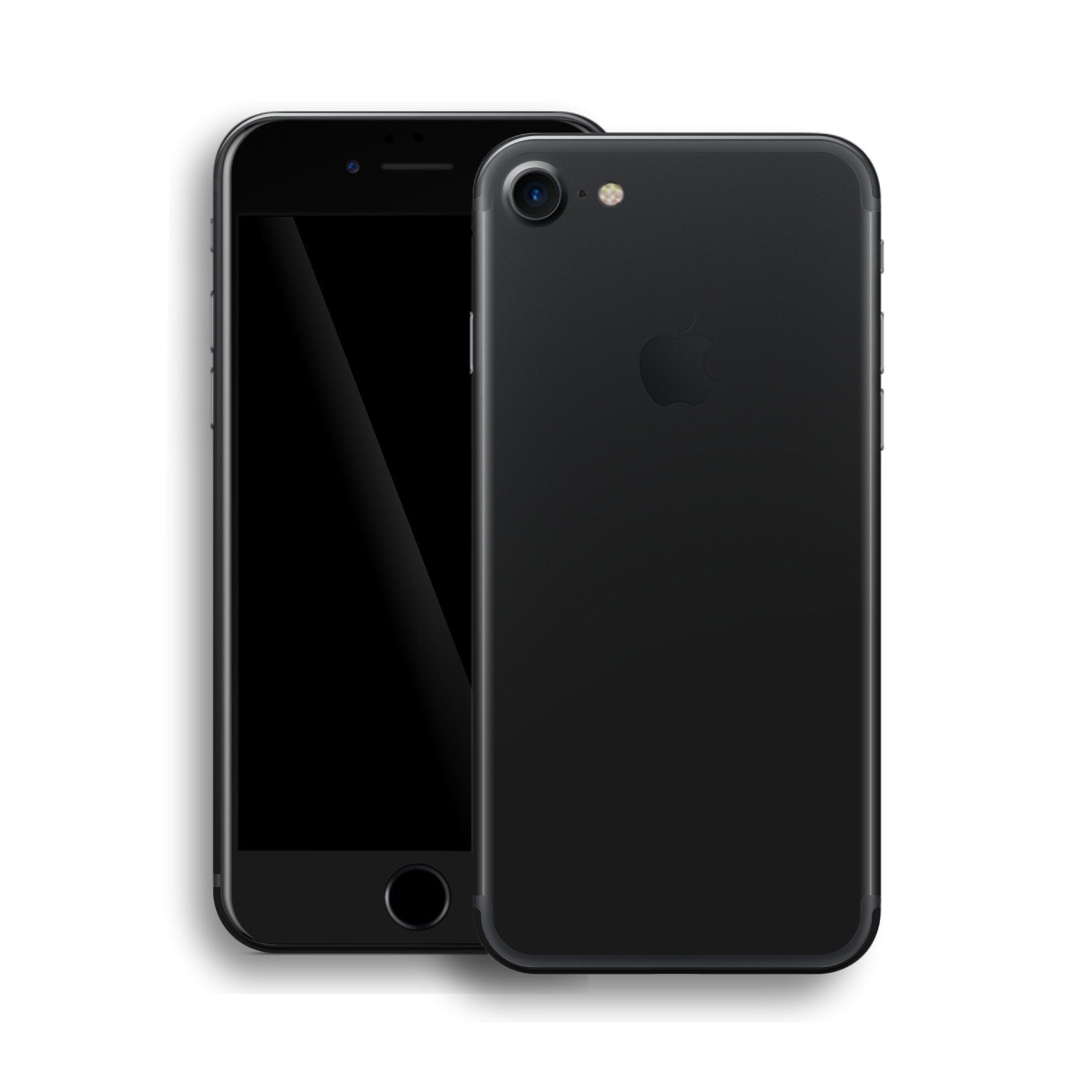 iPhone 7 DEEP BLACK Matt Skin Wrap Decal Protector | EasySkinz