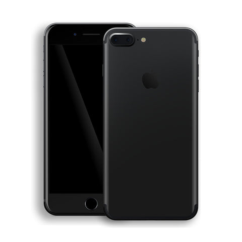 iPhone 7 PLUS DEEP BLACK Matt Skin Wrap Decal Protector | EasySkinz