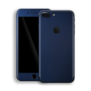 iPhone 7 Plus Deep Ocean Blue Matt Skin Wrap Decal Protector | EasySkinz