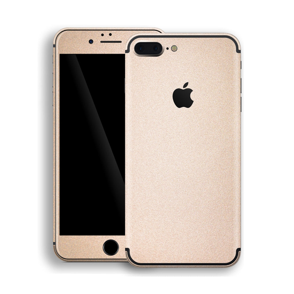 iPhone 7 Plus Luxuria Rose Gold Metallic Skin Wrap Decal Protector | EasySkinz