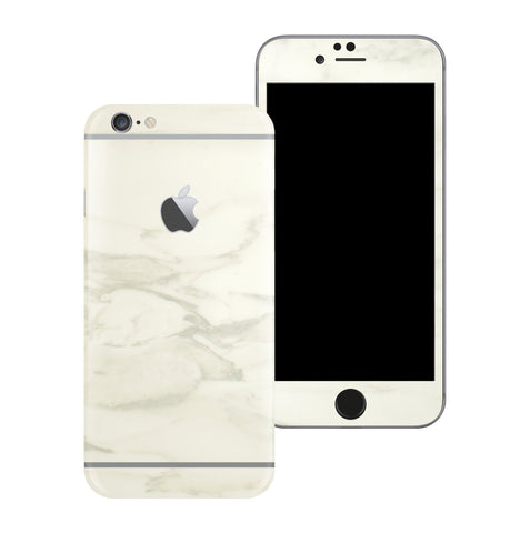 iPhone 6S Luxuria White MARBLE Skin Wrap Decal Protector | EasySkinz
