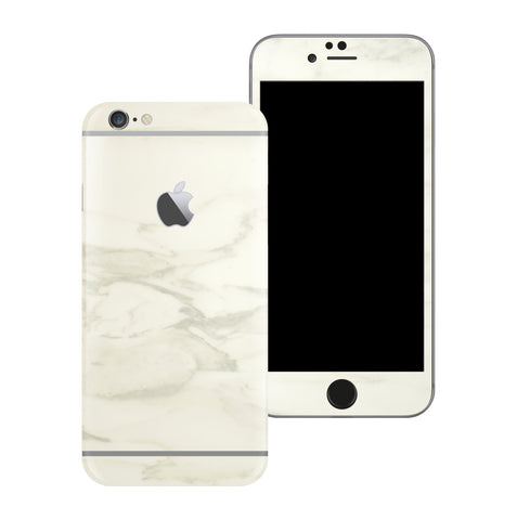 iPhone 6 Luxuria White Marble Skin Wrap Decal Protector | EasySkinz
