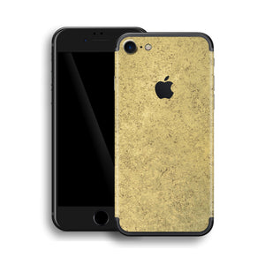 iPhone 7 Luxuria Egyptian Gold and Black Matt Skin Wrap Decal Protector | EasySkinz