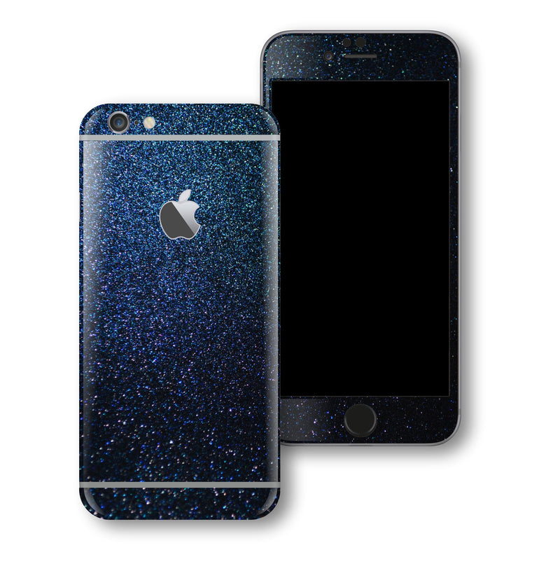 iPhone 6S PLUS Glossy 3M Midnight Blue Metallic Skin Wrap Sticker Cover Protector Decal by EasySkinz
