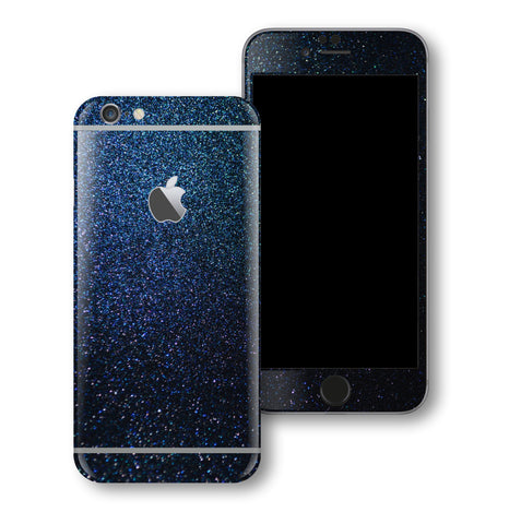 iPhone 6S Glossy MIDNIGHT BLUE 3M Metallic Skin Wrap Decal Cover by EasySkinz