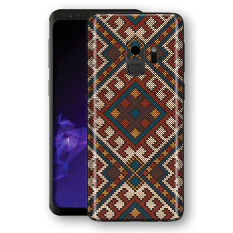 Samsung Galaxy S9 Signature Knitted Skin, Decal, Wrap, Protector, Cover by EasySkinz | EasySkinz.com