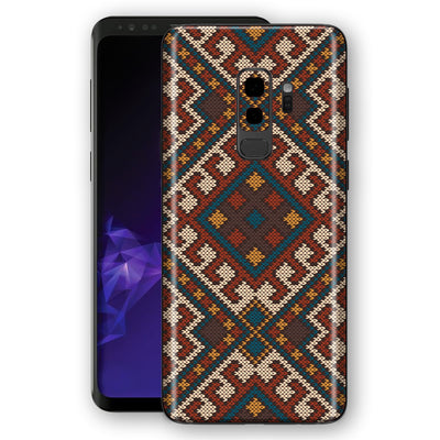 Samsung Galaxy S9+ PLUS Signature Knitted Skin, Decal, Wrap, Protector, Cover by EasySkinz | EasySkinz.com