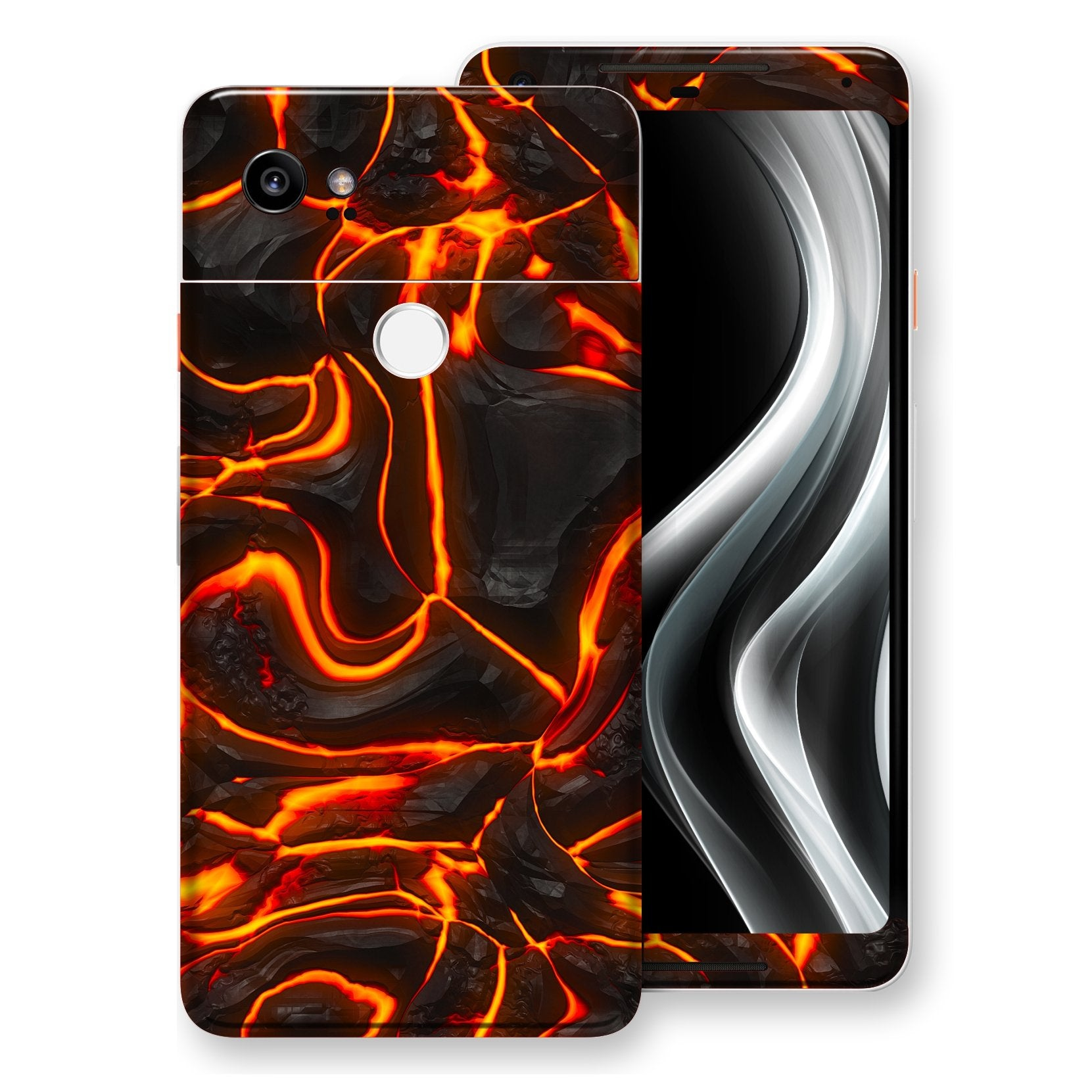 Google Pixel 2 XL Print Custom Signature Lava Skin Wrap Decal by EasySkinz