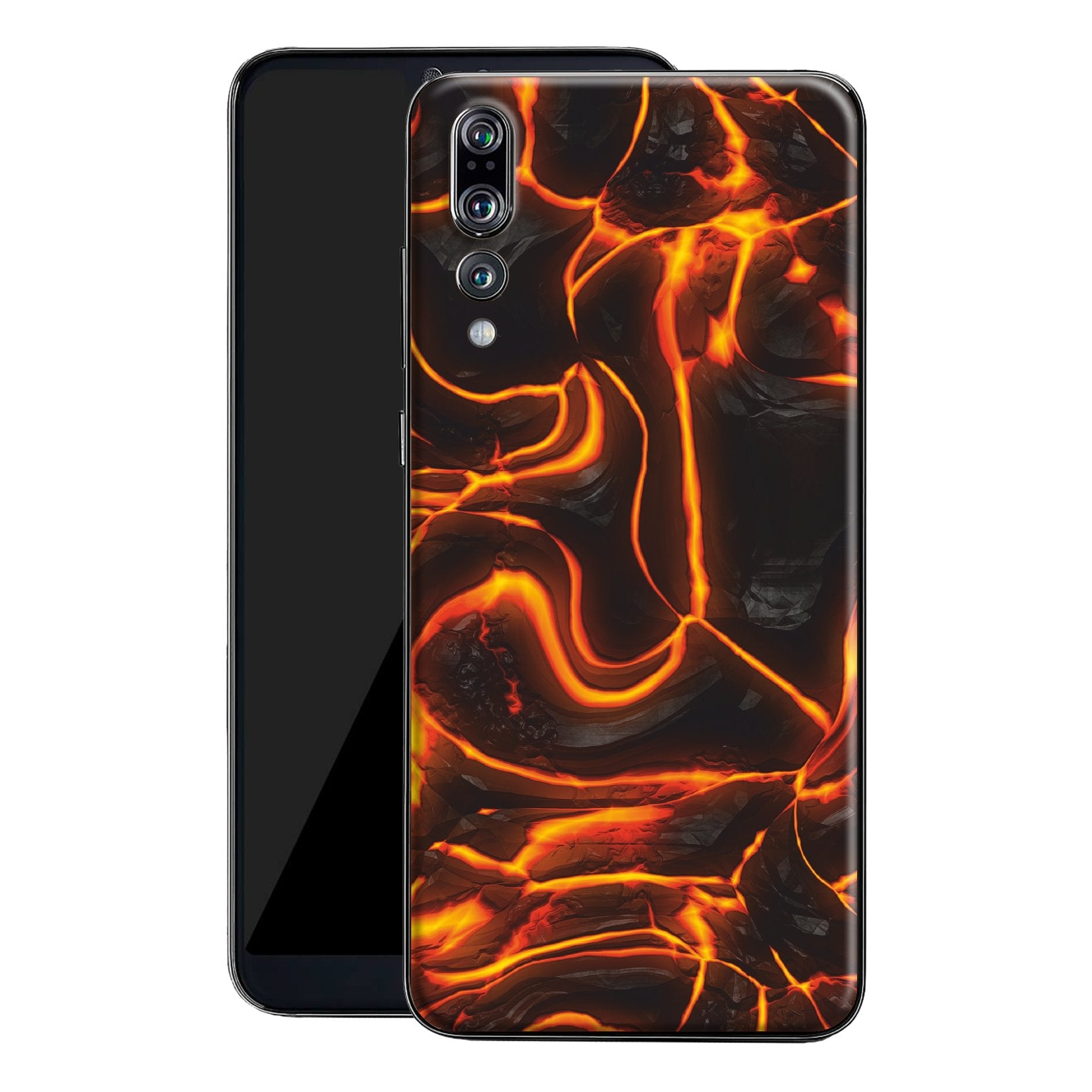 Huawei P20 PRO Print Custom Signature LAVA Skin Wrap Decal by EasySkinz