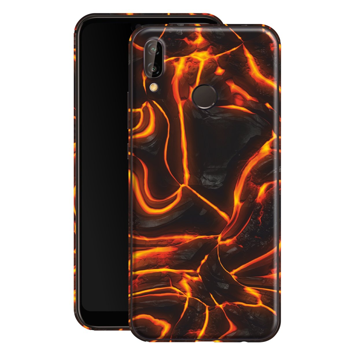 Huawei P20 LITE Print Custom Signature LAVA Skin Wrap Decal by EasySkinz