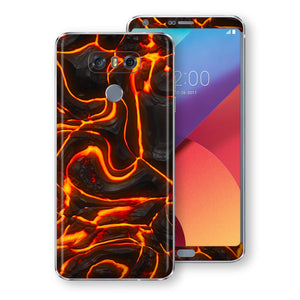LG G6 Print Custom Signature Lava Skin Wrap Decal by EasySkinz
