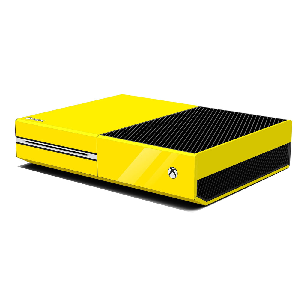 Xbox One Console Lemon Yellow GOSSY Skin Wrap Sticker Decal Protector Cover by EasySkinz