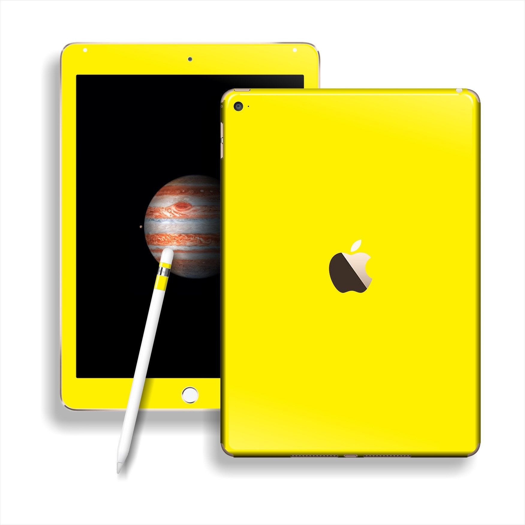 iPad PRO Glossy Lemon Yellow Skin Wrap Sticker Decal Cover Protector by EasySkinz