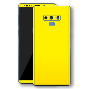 db46ca91fb3d Samsung Galaxy NOTE 9 Lemon Yellow Glossy Gloss Finish Skin