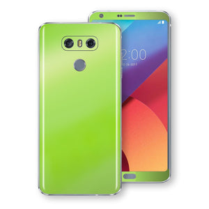 LG G6 Apple Green Pearl Gloss Finish Skin, Decal, Wrap, Protector, Cover by EasySkinz | EasySkinz.com
