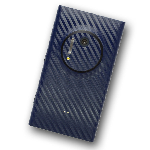 Nokia Lumia 1020 Navy Blue Carbon Skin