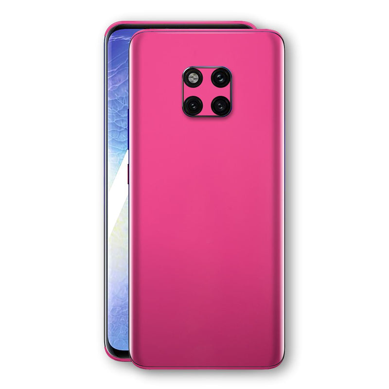 Huawei MATE 20 PRO Magenta Glossy Gloss Finish Skin, Decal, Wrap, Protector, Cover by EasySkinz | EasySkinz.com