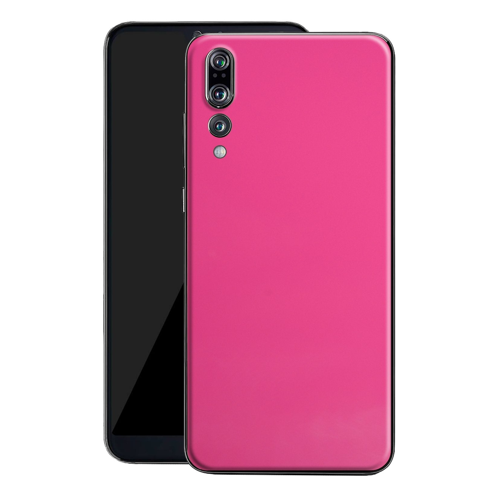 Huawei P20 PRO Deep Red Glossy Gloss Finish Skin, Decal, Wrap, Protector, Cover by EasySkinz | EasySkinz.com