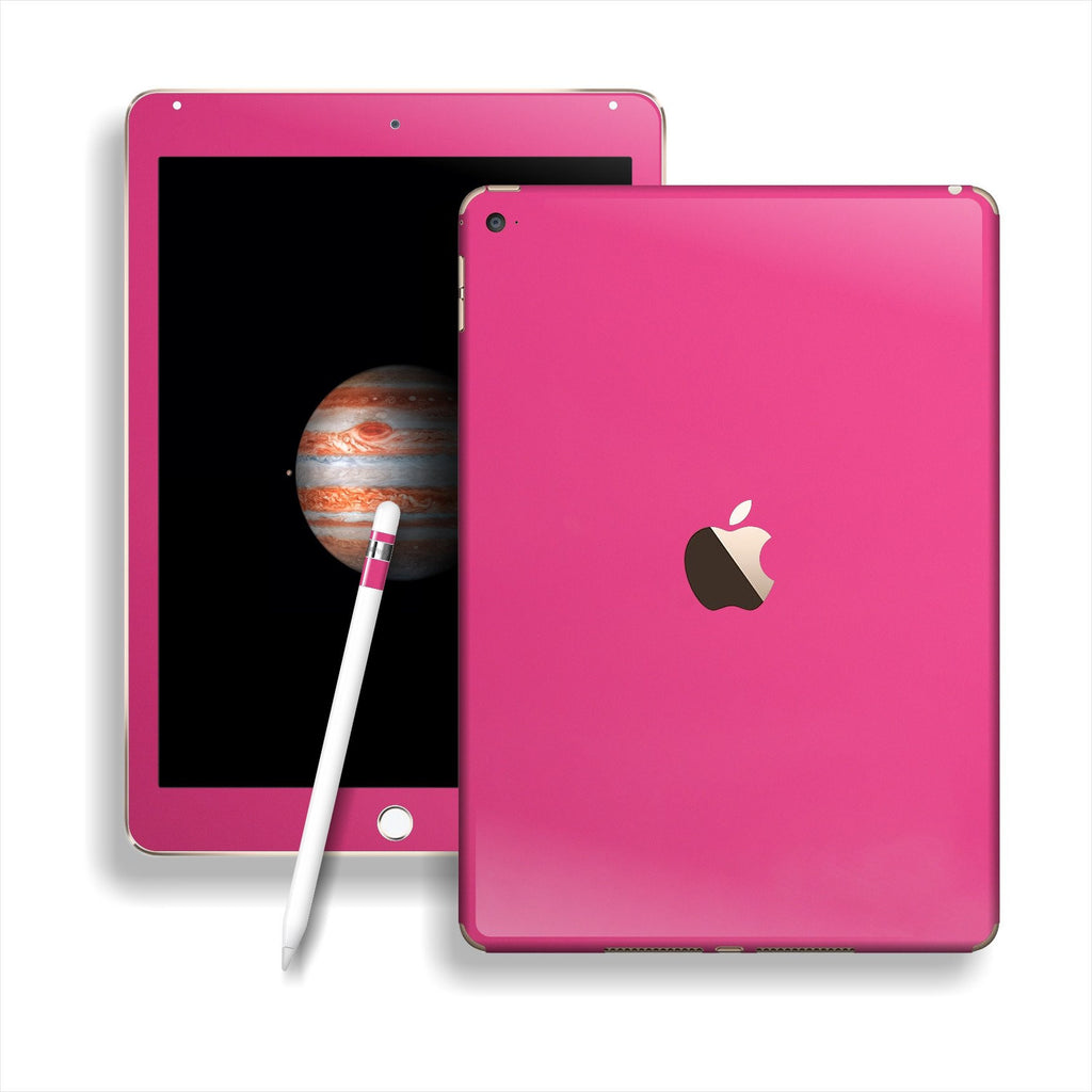 iPad PRO Glossy Magenta Skin Wrap Sticker Decal Cover Protector by EasySkinz