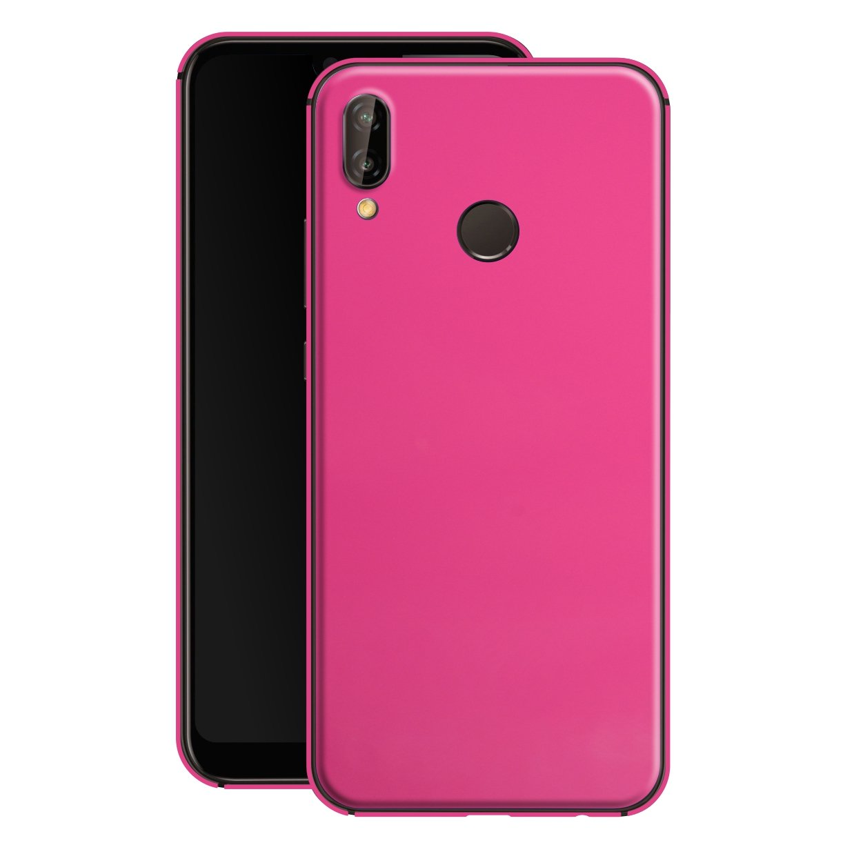 Huawei P20 LITE Glossy Gloss Magenta Finish Skin, Decal, Wrap, Protector, Cover by EasySkinz | EasySkinz.com