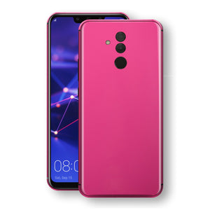 Huawei MATE 20 LITE Magenta Glossy Gloss Finish Skin, Decal, Wrap, Protector, Cover by EasySkinz | EasySkinz.com