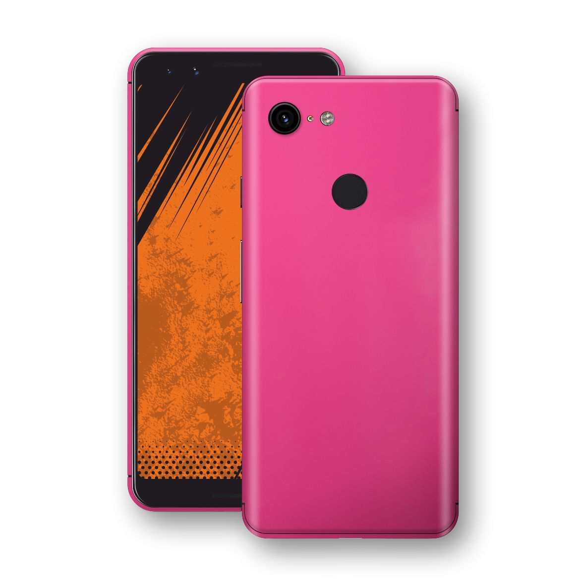 Google Pixel 3 Magenta Glossy Gloss Finish Skin, Decal, Wrap, Protector, Cover by EasySkinz | EasySkinz.com