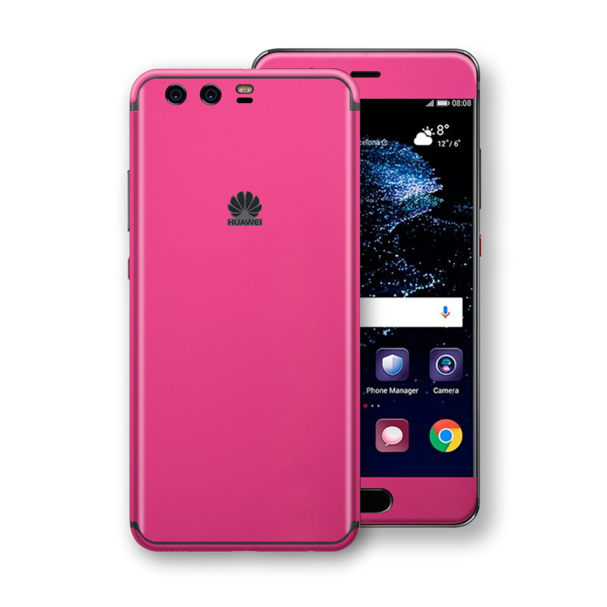 Huawei P10+ PLUS  Magenta Glossy Gloss Finish Skin, Decal, Wrap, Protector, Cover by EasySkinz | EasySkinz.com