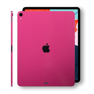 iPad PRO 12.9 inch 3rd Generation 2018 Glossy Magenta Skin Wrap Sticker Decal Cover Protector by EasySkinz
