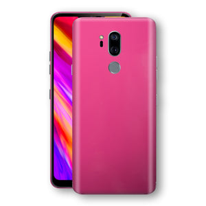LG G7 ThinQ Magenta Glossy Gloss Finish Skin, Decal, Wrap, Protector, Cover by EasySkinz | EasySkinz.com