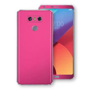 LG G6 Magenta Glossy Gloss Finish Skin, Decal, Wrap, Protector, Cover by EasySkinz | EasySkinz.com
