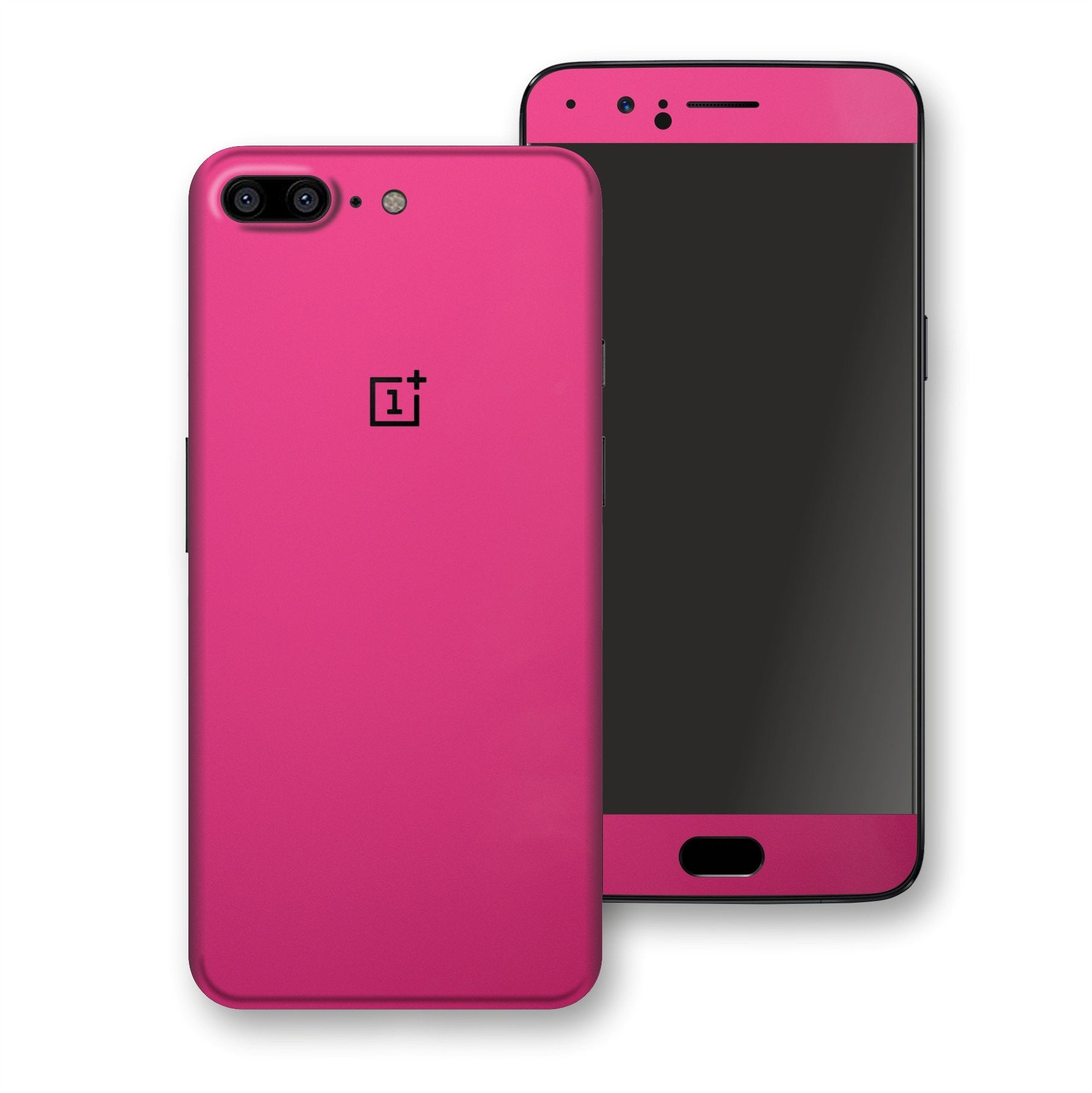 OnePlus 5 Magenta Glossy Gloss Finish Skin, Decal, Wrap, Protector, Cover by EasySkinz | EasySkinz.com
