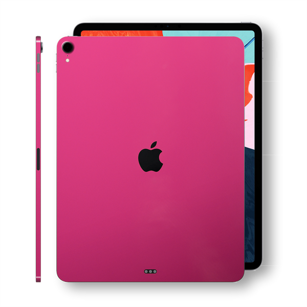 iPad PRO 11-inch 2018 Glossy Magenta Skin Wrap Sticker Decal Cover Protector by EasySkinz